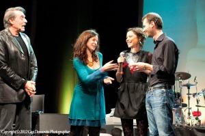 La premiazione (Foto Demontis)